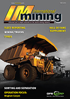 International Mining Magazine Cover