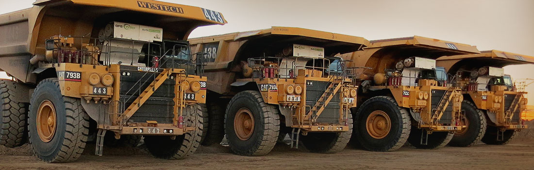 The EVO-MT 7930 System installed on a Caterpillar 793B mine haul truck